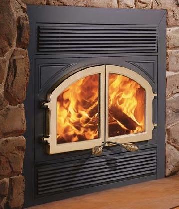 Max Bordeaux Zero Clearance Fireplace
